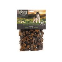 Snacks Dehner Wild Nature Hundesnack, Pferde-Lungenwürfel, naturbelassen