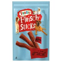 Snacks Frolic Fleisch Sticks mit Rind