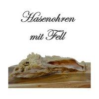 Snacks Frostfutter Nordloh Hasenohren mit Fell
