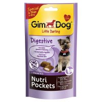 Snacks GimDog Nutri Pockets Digestive