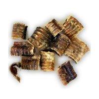 Snacks Grobys Futterkiste Rinderstrossen Luftröhre Strosse kleine ca. 5 cm Stücke