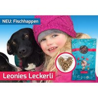 Snacks ICEPAW Fischhappen Leonies Leckerlie