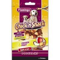 Snacks Karlie Flamingo Chick'n Snack Apple Wraps Chicken & Fruit
