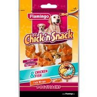 Snacks Karlie Flamingo Chick'n Snack Fish Wraps Chicken & Fish