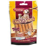 Snacks Karlie Flamingo Chick'n Snack Milk Chicken & Munchy