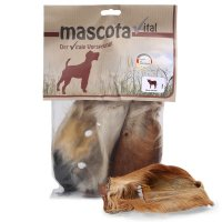 Snacks mascota vital Kalbsohren mit Fell