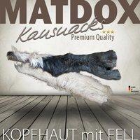 Snacks MATDOX Premium Rinderkopfhaut mit Fell