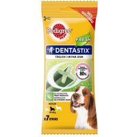 Snacks Pedigree Dentastix Fresh für mittelgroße Hunde