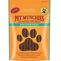 Snacks Pet Munchies Beef Liver Sticks