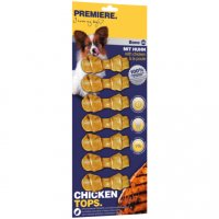Snacks Premiere Chicken Tops Bone Kauknochen XS