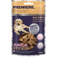 Snacks Premiere Junior Sticks Huhn & Rind