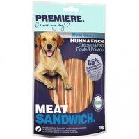 Snacks Premiere Meat Sandwich Huhn und Fisch