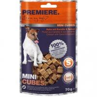 Snacks Premiere Mini Cubes Huhn mit Karotte & Spinat