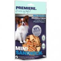 Snacks Premiere Mini Sandwich Huhn und Fisch