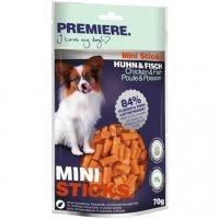 Snacks Premiere Mini Sticks Huhn & Fisch