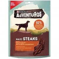 Snacks Purina Adventuros Maxi Steaks mit Büffel