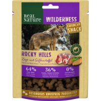 Snacks Real Nature Wilderness Crunchy Snack Rocky Hills Ziege mit Süßkartoffel