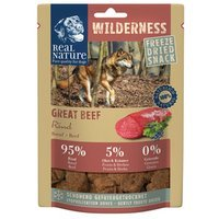 Snacks Real Nature Wilderness Gefriergetrockneter Snack Great Beef