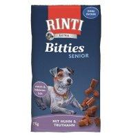Snacks RINTI Extra Bitties Senior Huhn & Truthahn