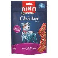 Snacks RINTI Extra Chicko PLUS Ente mit knusprigen Müsli