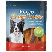 Snacks Rocco Chings Double, Huhn & Rind