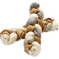 Snacks Rocco Kaustange geflochten, geräuchert 17 cm
