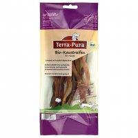 Snacks Terra-Pura Bio-Hundeleckerli Kaustreifen