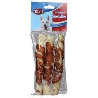 Snacks TRIXIE Denta Fun Kaurollen mit Huhn 17 cm