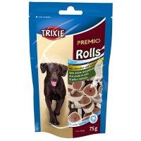 Snacks TRIXIE PREMIO Hühnchen & Seelachs Snack Rolls