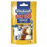 Snacks Vitakraft For You Kauknoten mit Huhn S