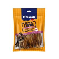Snacks Vitakraft Natural Chews Schweineohren getrocknet
