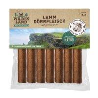 Snacks Wildes Land Lamm Dörrfleisch