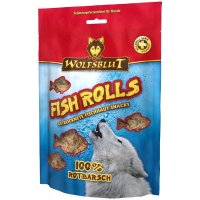 Snacks Wolfsblut Fish Rolls Rotbarsch