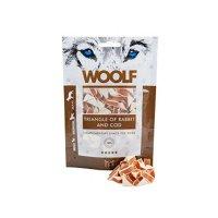 Snacks Woolf Kaninchen und Kabeljau Stückchen