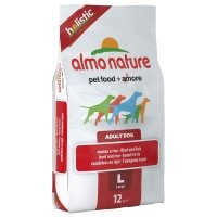 Trockenfutter Almo Nature Holistic Large Rind - Reis