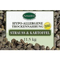 Trockenfutter Amadeo Hypoallergenes Trockenfutter aus Straußenfleisch mit Kartoffeln