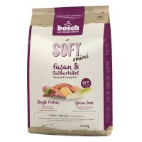 Trockenfutter bosch Soft mini Fasan & Süßkartoffel