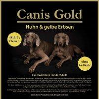 Trockenfutter Canis Gold Adult Huhn & gelbe Erbsen
