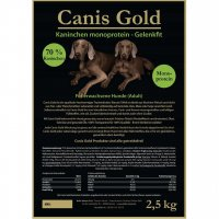 Trockenfutter Canis Gold Adult Kaninchen & Kartoffeln