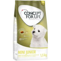 Trockenfutter Concept for Life Mini Junior