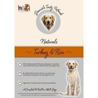 Trockenfutter Daniels Tasty Petfoods Naturals Turkey & Rice Adult