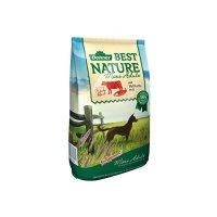 Trockenfutter Dehner Best Nature Maxi Adult, Rind und Lachs