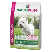 Trockenfutter Eukanuba Nature Plus Adult Lamb Small Breed