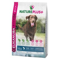 Trockenfutter Eukanuba Nature Plus Adult Salmon Large Breed