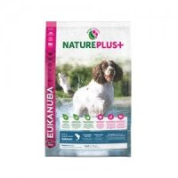 Trockenfutter Eukanuba Nature Plus Adult Salmon Medium Breed
