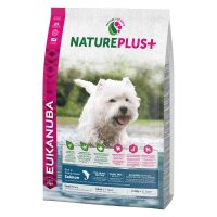 Trockenfutter Eukanuba Nature Plus Adult Salmon Small Breed