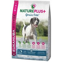Trockenfutter Eukanuba Nature Plus Grain Free Adult Salmon All Breed
