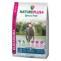 Trockenfutter Eukanuba Nature Plus Grain Free Puppy Junior Salmon All Breed