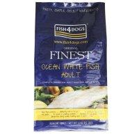 Trockenfutter Fish4Dogs Finest Ocean White Fish Adult