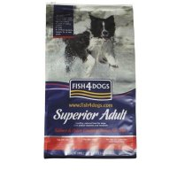 Trockenfutter Fish4Dogs Superior Adult